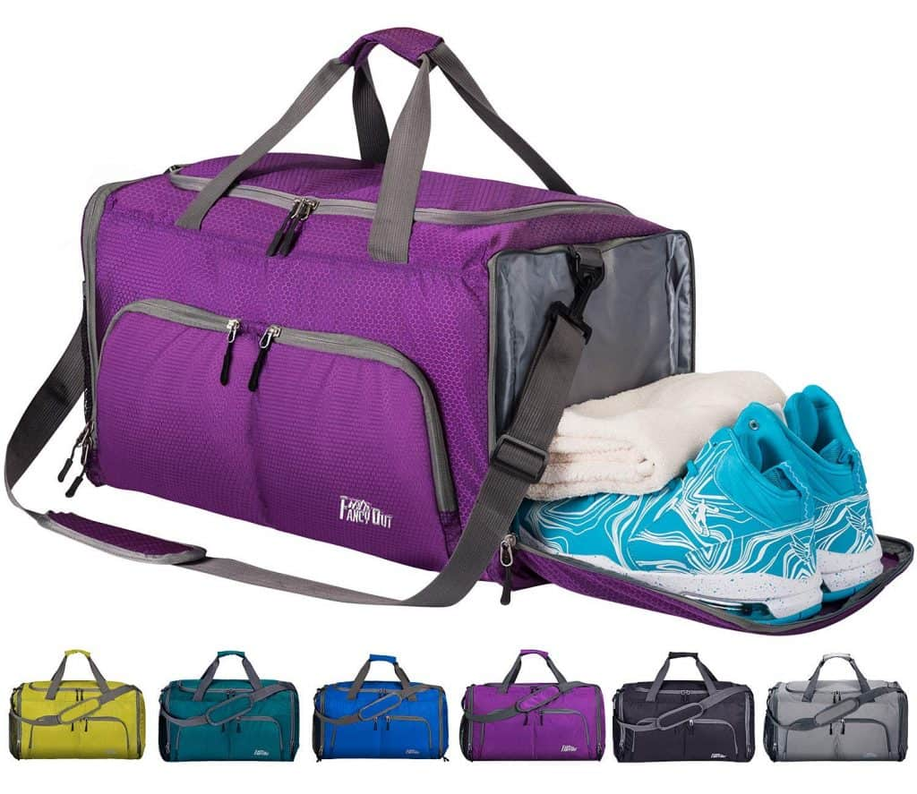 FancyOut Sports Gym Bag with Wet Pocket