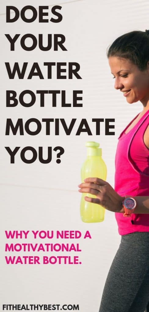 Having trouble staying motivated and hydrated?  Why you need a motivational water bottle now!