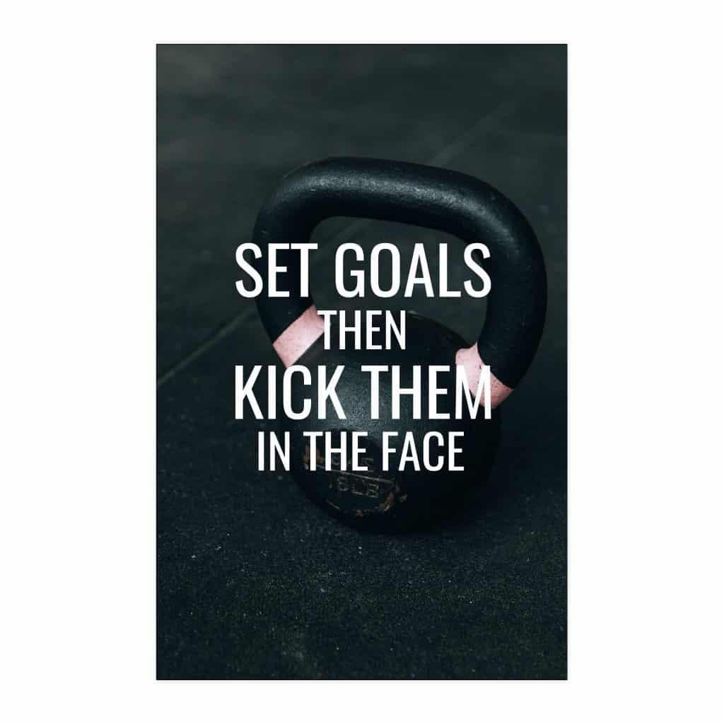set goals poster