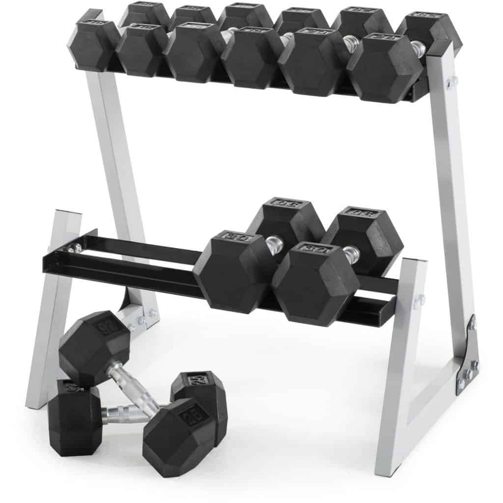weider rubber hex dumbbell weight set