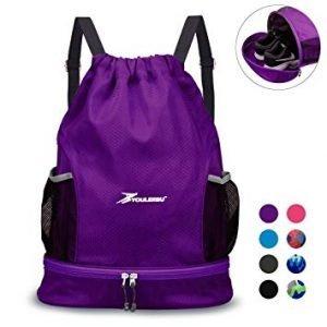 Youlerbu Drawstring Gym Bag