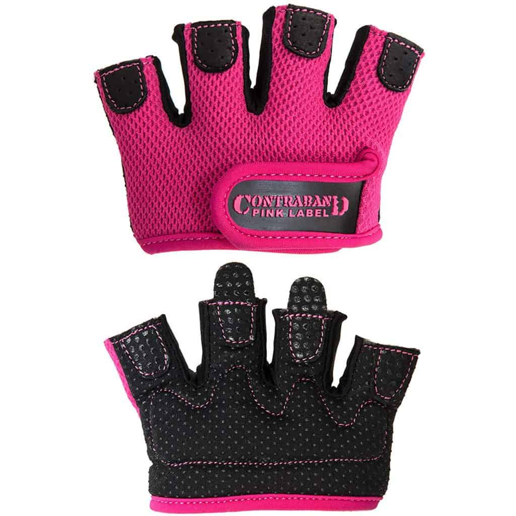 contraband micro women's gym gloves