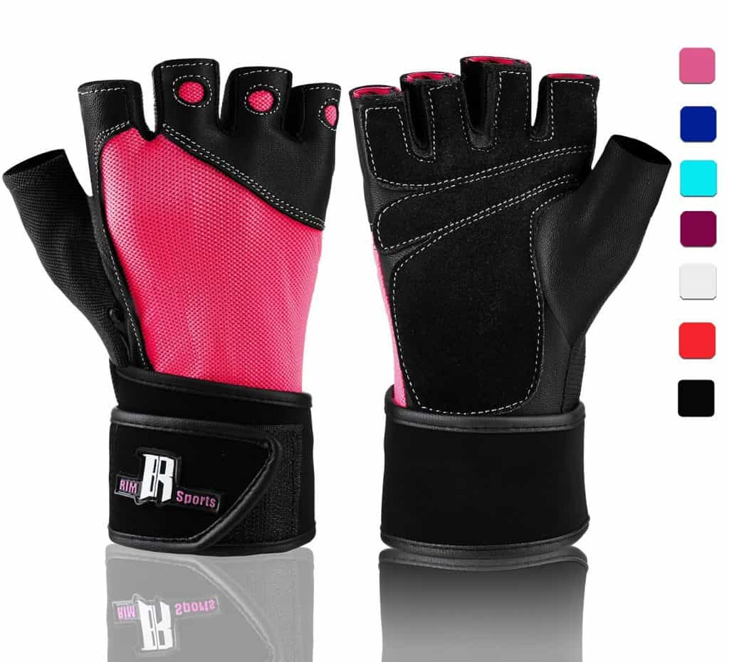 rimsports women's gym gloves