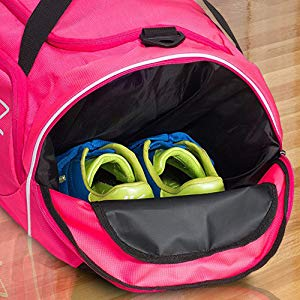 finding the best gym bag with shoe compartment