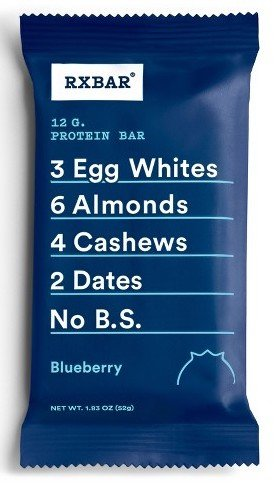 blueberry rx bar