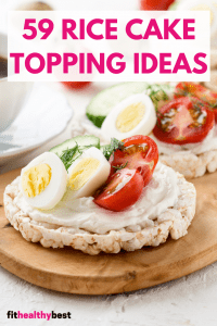 Rice Cake Toppings Ideas